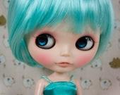 """12"""" Goodyblythe Hair Wig for Blythe Peppermint Long Bob W239"""