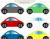 Cars VW Bug Clip Art - VW Beetle Clip Art Set - slug bug clipart Car  instant download