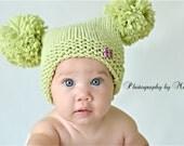 Baby Jester Pom Pom Hat Photo Prop