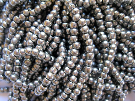 RARE 1900s-1920s Steel Beads, French Military, World War I, lot of 60
