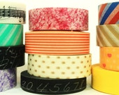 Choose Any 4 Washi Tapes or Oil Paper Tapes at 10% off