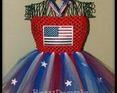 4th of July FlagTutu Dress