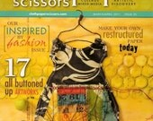 CLOTH PAPER SCISSORS - March/April 2011 issue