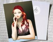 """Postcard """"Anne"""""""
