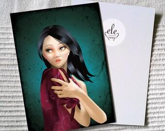 "Postcard ""Constance"""
