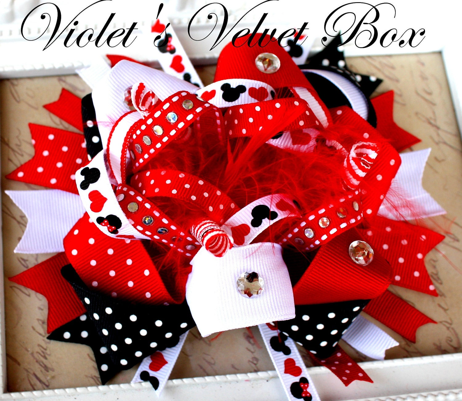 Minnie Mouse Bow Clip Art Minnie mouse bow hair bow