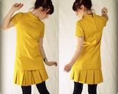 Vintage Mustard Yellow Fancy Dress