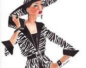 JOSEPHINE Fashion Sketches, Fashion Illustrations, Black Art, Bedroom Accessories, Spa Art