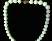 14K vintage natural jade necklace with chinese character clasp -  Stunning Sale from 1600-offers welcome