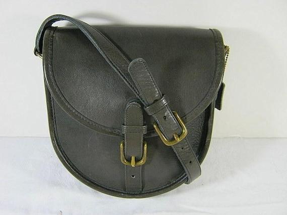 Vintage 60s AUTHENTIC COACH Saddle Bag NYC Bonnie Cashin Leather Purse Unique Serial
