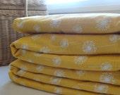 Waterproof Picnic Blanket, Oversized Stumptown Original, Yellow Dandelion