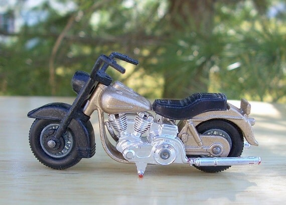 Harley Davidson Matchbox Motorcycle No. 50