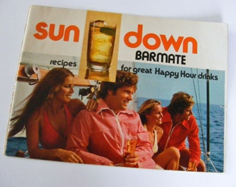 Southern Comfort Sundown Barmate Recipe Booklet