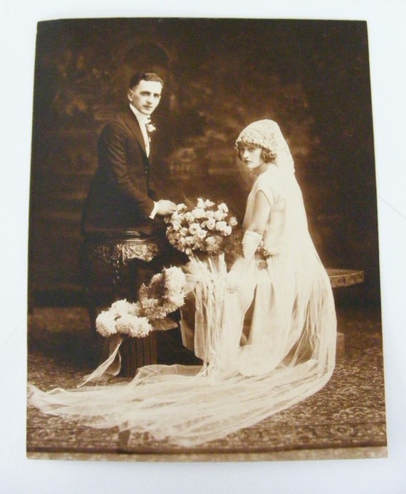 Beautiful Vintage Wedding Photo