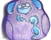 Underwater Monster Pillow