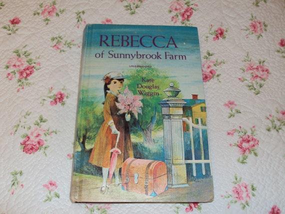 Rebecca of Sunnybrook Farm Vintage Book