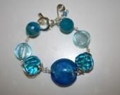 Wire Wrap hand made bracelet