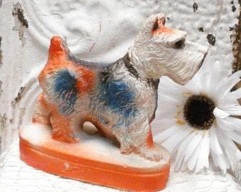 Scottie Dog Carnival Chalkware Prize