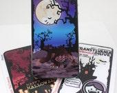Halloween Full Moon Werewolf iPhone 4 Decal Skin