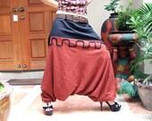 Custom Harem Pants - 100% Linen with Belt - SALE