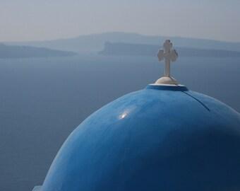 Santorini Church Dome 8x10
