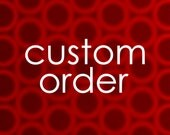CUSTOM ORDER - lgoody36 - nightstand lampshade
