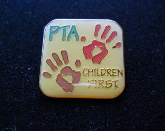 PTA Children First membership pin