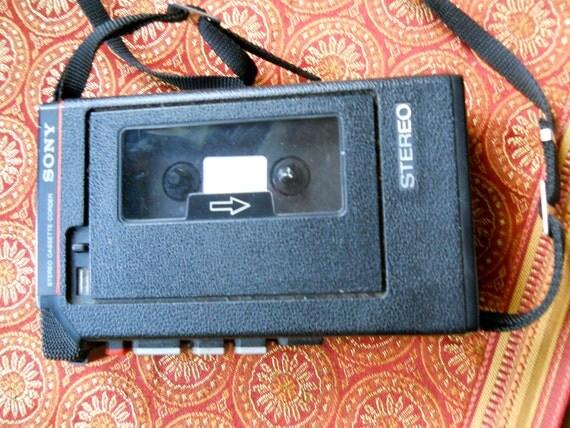 Vintage Sony Walkman Stereo Cassette-Corder