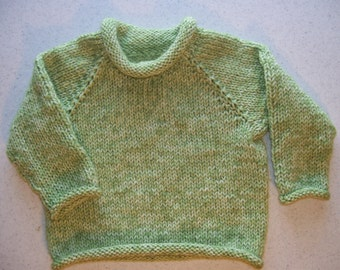 Green Seaspray Mist Pullover