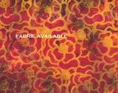 Oversize wallet- Purple Flower Batik