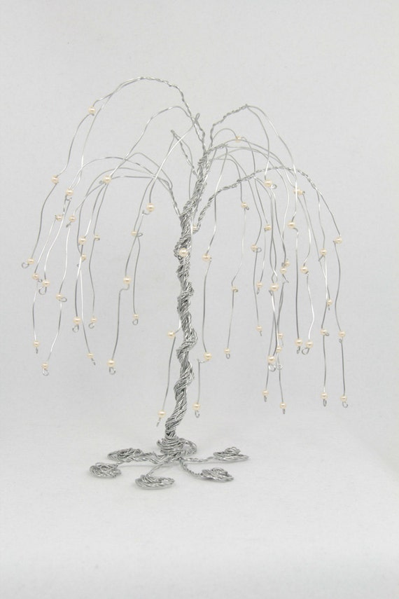 RESERVED for Shannon - Custom Weeping Willow Tree Wire Sculpture