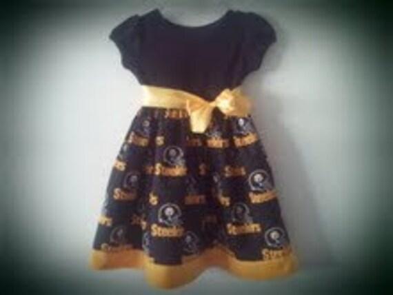 Steelers inspired empire waist dress