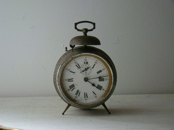 antique JAPY alarm clock