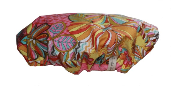 Fun and Funky Shower Cap - Summer of Love, Only 2 left!!