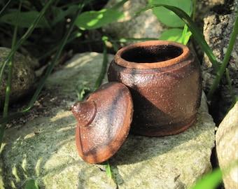 Miniature Lidded Genie Jar