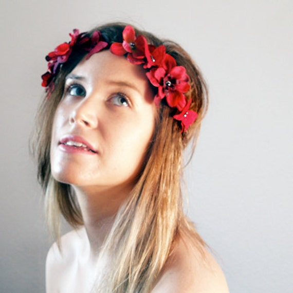 Iron and Wine Floral Crown