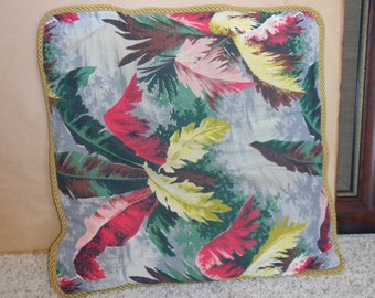 1940's 1950's Hawaiian pillow