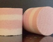 Pink Peony Bubble Bath Bar Set of 2