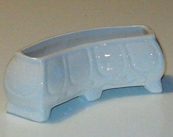 """Vintage Pansy Pot, Erphila, Czech Pottery 4.75""""L"""