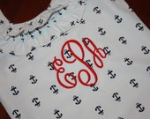 Monogrammed Anchor Swimsuit