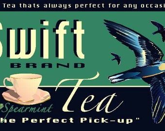 Swift tea print