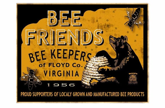 Bee Friends fine print