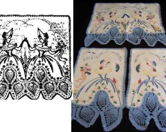 Duets Southern Belle crochet & embroidered mo 5035