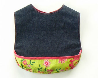 Baby Bib (3 different designs) - pdf sewing pattern -easy to sew