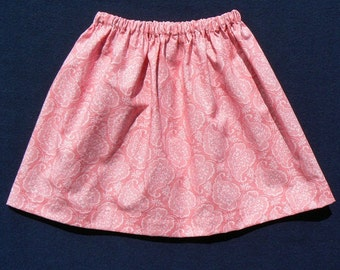 Easy Skirt Sewing Pattern PDF - Size 12 months to 10 years