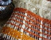70's vintage earth tones curtain fabric