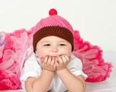 PDF Cupcake Hat Crochet Pattern