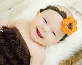 PDF Autumn Flower Blossom Headband Crochet Pattern