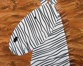 Zippy Zebra Applique Pattern
