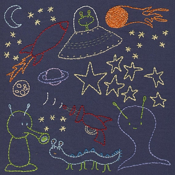 space embroidery pattern pdf